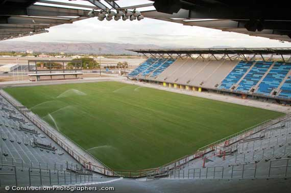The new San Jose Earthquakes Stadium is nearly ready for the first game.